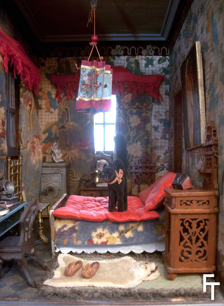 Fondation tanagra art mode culture the lala house - Chambre style oriental ...